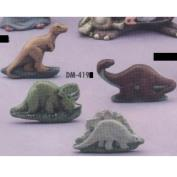 DM419 -4 Dinosaur Magnets 5cm