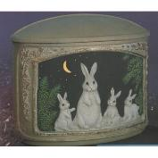 G2312-Bunny Box with Lid 18cmL
