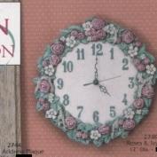 G2749-Rose & Ivy Clock 30cm