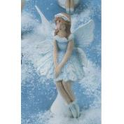 G3345-Snow Flurries Fairy Sitting 15cm