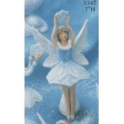 G3347-Snow Flurries Fairy with Snowflake above Head 18cm