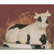 G866-Cow Butter Dish Base & Cover 21cm