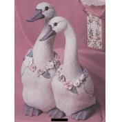 K1532-Large Pair of Ducks 28cm