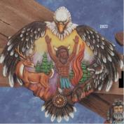 K2822-Spirits Wall Clock 33cm
