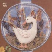 S1705-Small Duck Plaque Looking Back 21cm