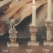 S1795- 2 Victorian Candle Sticks 8cm