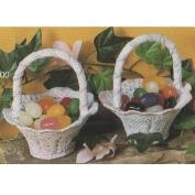 S1800- 2 Small Lace Baskets