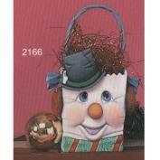 S2166-Medium Snowman Bag 10cmT
