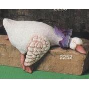 S2252-Sleeping Shelf Duck 22cm