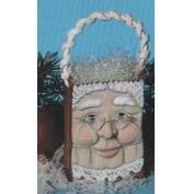 S2313-Medium Mrs Santa Bag 10cm