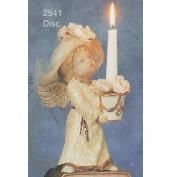 S2541-Girl Angel Candleholder 23cm