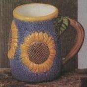 S2636-Sunflower Mug 13cm