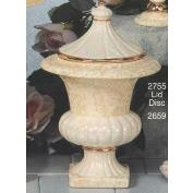 S2755-Small Urn with Lid 21cm