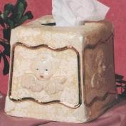 S2890-Cherub Tissue Holder 15cm x 15cm