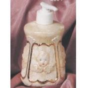 S2894-Cherub Soap or Lotion Dispenser 14cm