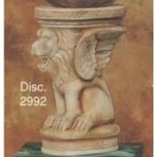 S2992-Lion Column 21cm
