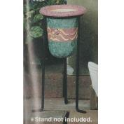 S3016 -Textured Votive for Stand no cut outs 13cmT