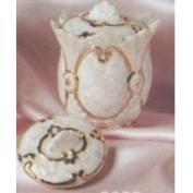 S3052- 2 Chantelle Nut Cups with Lids 8cm
