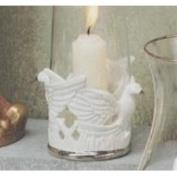 S3124- Medium Dove Hurricane or Nut Cup no cut outs 9cm