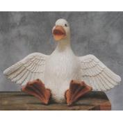 S3284-Large Duck with Feet Up 23cm
