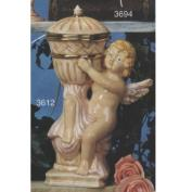 S3612B-Cherub with Vase Right with Lid 28cmT