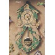 S3623-Cherub Pendulum Clock 45cm
