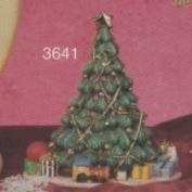 S3641-Christmas Tree Votive 17cm