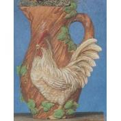 S3740-Rooster Pitcher 31cmH