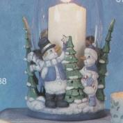S3755-Snowman Harricane with Cut Outs 21cmT