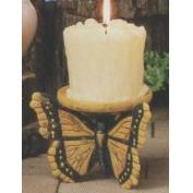S3822-3 Sided Butterfly Candleholder 10cm