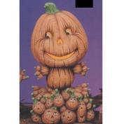 TL514-Pumpkin Base 9cm x 18cm (No cut outs) for TL454-Jack O Lantern 28cm