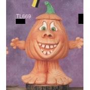 TL670-Dumb Waddle Kin Pumpkin Pot with Lid 25cm