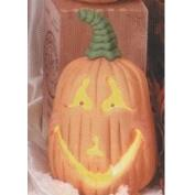 TL825E-Trick or Treat Pumpkin with Cut Outs 19cm