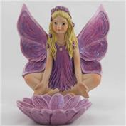 G2757B Lotus Fairy 15cm with Lotus Flower