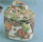 DM1834- Fruit Sugar Bowl with Lid