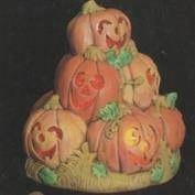 D154A -Pumpkin Stack with cut outs 21cm