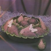 D1395 -Lilacs & Butterflies Bowl 33cm Wide