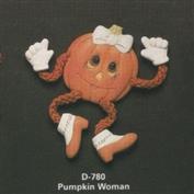 D780 -Pumpkin Woman Posie 7cm