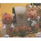 D897 -Pumpkin Patch Basket 25cm