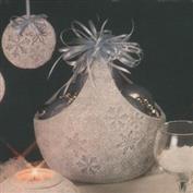 D1812 -Snowflake Impressions Basket 20cm