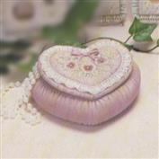 D303 -Soft Sculpture Heart Box 18cm Wide