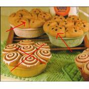 MD2166 -Muffin Box 16.5cm Wide