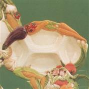 DM1743 -Vegetable Rimmed Divided Platter 36cm Wide