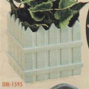 DM1595 -Picket Fence Planter 12.5cm High