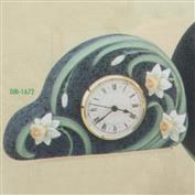 DM1672 -Daffodil Clock 30.5cm
