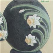 DM1669 -Daffodil Pillow Vase 28cm Tall