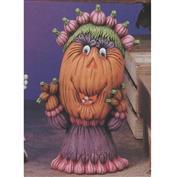 TL488B -Granny Pumpkin with cut outs 29cm