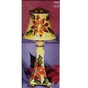 S3280 -Plain Lampshade only for Bottles or Candlesticks 17cmW No Cut Outs