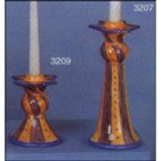 S3207 -Large Star Candlestick 22cm H