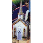 S3486 -Church Tissue Box 38cm